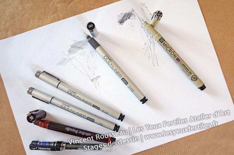 premiers pas en dessin le matériel de base atelier les yeux